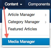 joomla 3 content media manager cmsmind elaine Joomla 3.0 Tutorial   How to Upload Images to a Subfolder