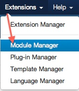 joomla 3 extensions module manager Joomla 3.0 Tutorial   How to Enable Administrator Toolbar