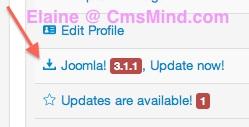 Joomla Tutorial - Joomla 3.1.1 Update Now!