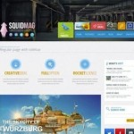 Click to visit Responsive Multi-Purpose Business Portfolio Wordpress Theme - SquidMag