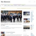Click to visit Responsive Magazine Wordpress Theme - Chronicle