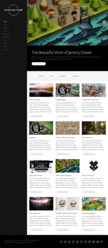 responsive minimalistic portfolio wordpress theme showcase Cost to Create a Minimalistic Portfolio with Wordpress Theme   Showcase