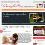 Thumbnail image for Professional Mommy Blog WordPress Theme – Mommy&Me
