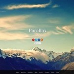 Click to visit Parallax Scrolling Wordpress Theme - Parallax