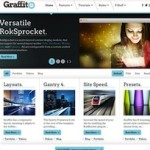 Click to visit Responsive Portfolio Wordpress Theme - Graffito