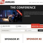 Responsive Event Manager - Januas