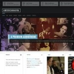 Click to visit Responsive Music Band Wordpress Theme - Americanaura