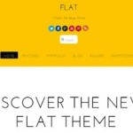 business theme flat design wordpress theme single page flat 2 150x150 Website Clones and Templates