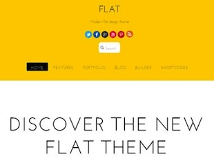Business Theme - Flat Design