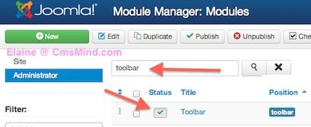 joomla 3 tutorial remove administrator toolbar 3 Joomla 3 Tutorial   How to Hide the Administrator Toolbar in Joomla