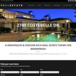 Click to visit Responsive Real Estate Wordpress Theme - WP Pro Real Estate 5