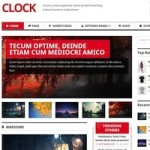 Click to visit Responsive Magazine Online Store Wordpress Theme - Clock