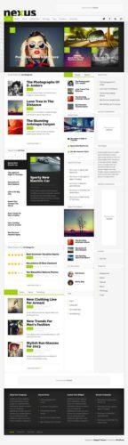 Responsive Magazine Theme - Nexus