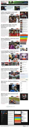 sports gazette responsive sports newspaper wordpress theme responsive magazine3 Cost to Make a Professional Sports News Site with Wordpress Theme   SportsGazette