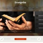 Click to visit Responsive Church Wordpress Theme - Evangelist
