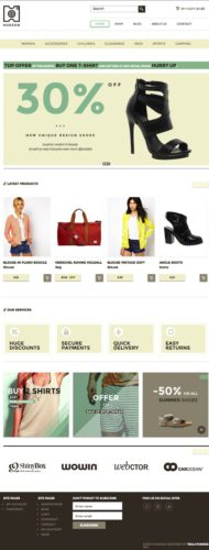 Ecommerce Online Store WordPress Theme - Hudson