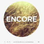 Click to visit Minimalistic Music Band Wordpress Theme - Shaken Encore