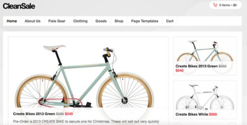 Clean Sale Ecommerce WordPress Theme Obox