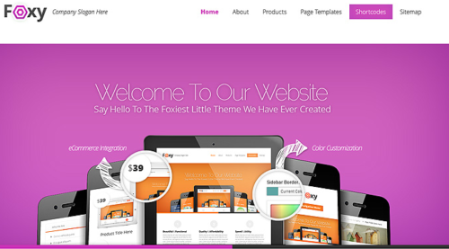 Foxy Ecommerce WordPress Theme