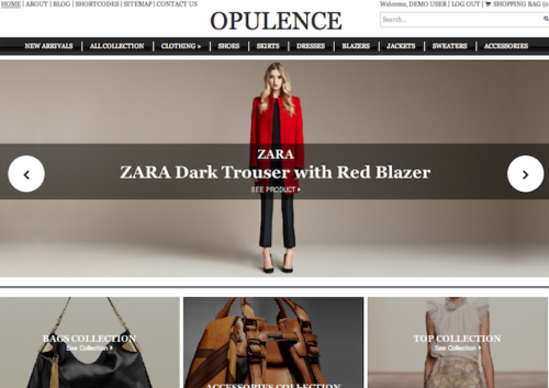 Opulence Ecommerce WordPress Theme Colorlabs