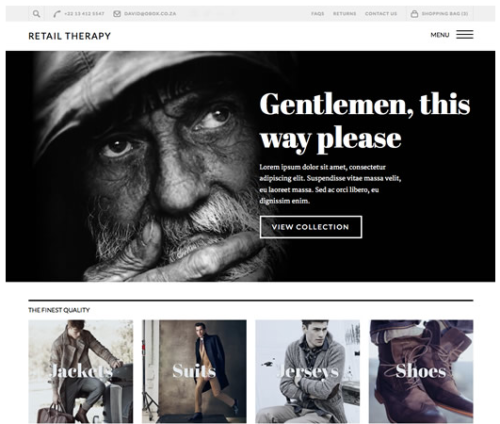 Retail Therapy Ecommerce WordPress Theme