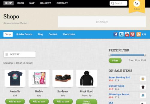 Shopo Ecommerce WordPress Theme
