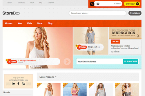 Best Ecommerce Wordpress Themes 2013