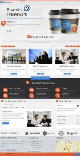 Chapelco WordPress Business Template Wordpress Theme RocketTheme Chapelco is a Flexible Wordpress Business Template