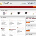 Thumbnail image for Create a Classified Ads Website with WordPress Theme – ClassiPress 3.3.1