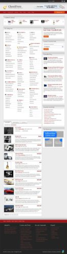 ClassiPress Classified Ads Premium Wordpress Theme Craigslist Clone AppThemes Best Classified Ads Themes