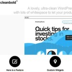 Thumbnail image for Minimal Business Portfolio Template – CleanBold