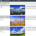 Thumbnail image for Create a Personal Blog with a Flat Design WordPress Theme – FastBlog