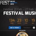 Thumbnail image for Stylish Events & Music WordPress Theme – Fest