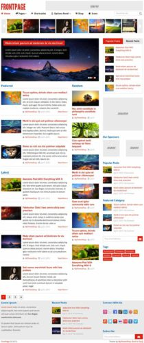 FrontPage Magazine Online Store WordPress Theme MyThemeShop Create an Magazine & Online Store Website with FrontPage Wordpress Theme