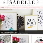 Thumbnail image for Professional Girly Blog WordPress Theme – Isabelle