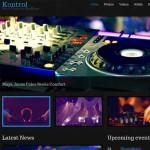 Thumbnail image for Responsive Music Band WordPress Theme – Kontrol