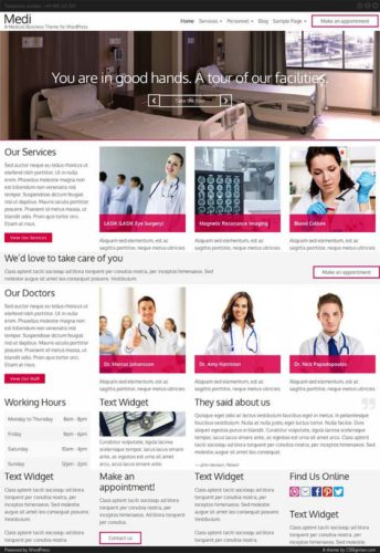 Medi Health Medical Template Doctors Hospitals Dentists Wordpress Theme Cssigniter Health & Medical WordPress Theme For Doctors & Dentists   Medi