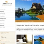 Thumbnail image for Hotel WordPress Theme with Online Reservations – Metropolis