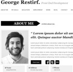 Thumbnail image for Create an Elegant Resume Website with Resume WordPress Theme My CV