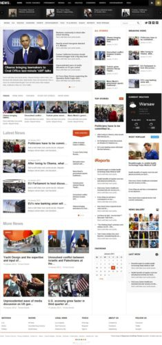 News Wordpress Theme Magazine News Responsive Gavickpro Responsive Professional News Wordpress Theme   News