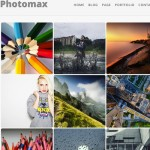 Thumbnail image for Photomax – Responsive Minimal Photography WordPress Theme