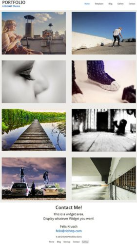 Portfolio Theme Portfolio Responsive Wordpress Theme RichWP Create a Minimal Photography Portfolio Website with Portfolio Wordpress Theme