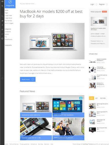 Responsive Magazine WordPress Theme Metro Inspired GavickPro Responsive Magazine Wordpress Theme Inspired by Metro Windows UI 8   Magazine