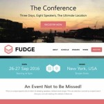 Thumbnail image for Powerful Event Manager WordPress Theme – Fudge
