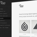 Thumbnail image for Create a Unique Portfolio Website with Unique Portfolio WordPress Theme Tao