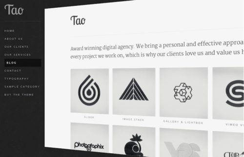 Responsive Unique Portfolio Template Wordpress Theme Tao Themeforest Create a Unique Portfolio Website with Unique Portfolio Wordpress Theme Tao