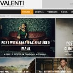 Thumbnail image for Valenti Parallax Reviews Magazine WordPress Theme