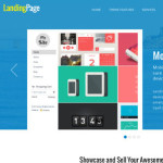 Thumbnail image for Multi-Purpose Responsive One Page WordPress Theme – Landing Page