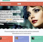 Thumbnail image for Responsive WordPress Theme for Beauty Salon – BeautyPress