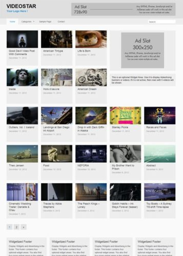 VideoStar WordPress Theme by RichWp